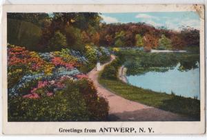 Greetings form Antwerp NY