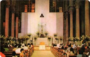 CPM Matehuala. Parrish Inside. MEXICO (661863)