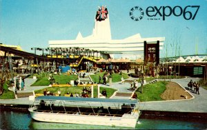 Canada Montreal Expo67 Great Britain Pavilion