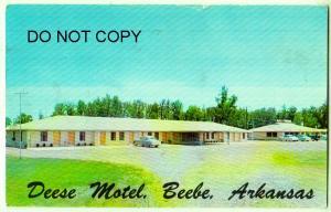 Deese Motel, Beebe Ark