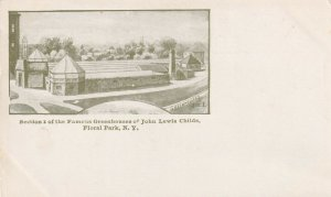 FLORAL PARK, New York, 00-10s; Section I Of the Famous Greenhouse Of John Lewis
