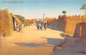 Nigeria Zaria Native Traditional Town, Animated