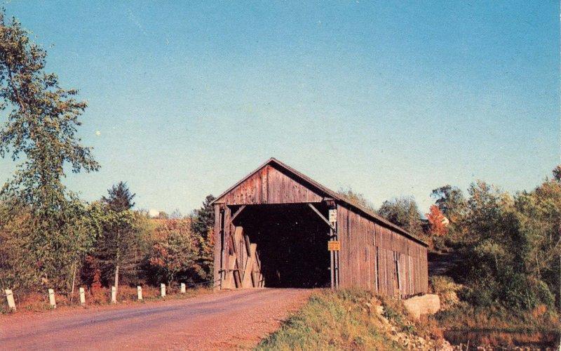 ME - Littleton. Covered Bridge