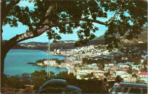 Charlotte Amalie as seen from Bluebeard's Castle, St. Thomas, Virgin Islands