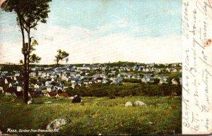 Massachusetts Gardner From Greenwood Hill 1906