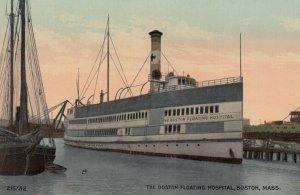 BOSTON , Mass. , 1900-10s ; The Boston Floating Hospital