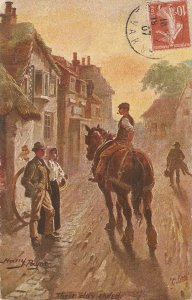 Harry Payne. Their day ended Tuck Oiette Village Life Ser. PC # 9452