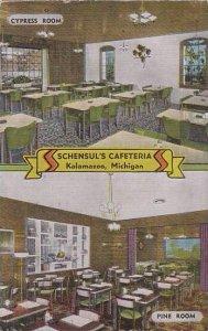 Michigan Kalanazoo Cypress Room Pine Room Schensuls Cafeteria 1957