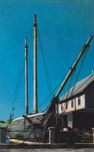 Kennebunkport , Maine , 50-60s ; Booth Tarkington Schooner