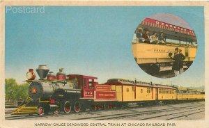 Railroad, Chicago Railroad Fair, Narrow-Gauge Deadwood Central Train