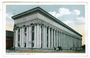 Saratoga Springs, New York to Northfield, Massachusetts 1915, Education Building