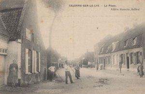 Calonne Sur La Lys Antique French Postcard