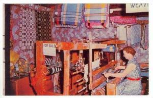 The Family Loom Made by John Abrahamson, Axtell, Nebraska, 1940-1960s