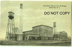 American Tobacco Co's Building, Reidsville NC