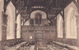 England Oxford Oriel College Dining Hall