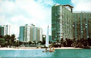 Hawaii Waikiki Beach The Ilikai Resort