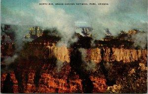 Grand Canyon AZ North Rim Postcard Unused (29668)