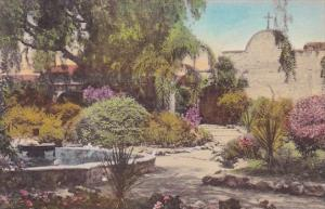 California San Juan Capistrano Old Chapel Arches Front Garden Old Mission Han...
