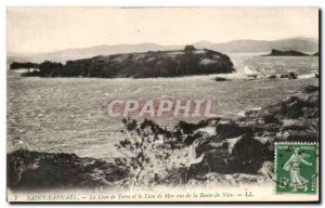 Old Postcard Saint Raphael The Lion And The Land Of Sea Lion Views Of The Roa...