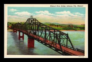 MISSOURI RIVER BRIDGE JEFFERSON CITY