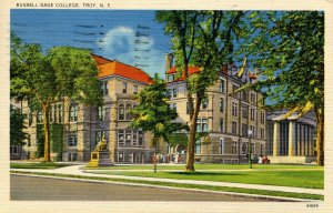NY - Troy. Russell Sage college