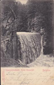 Rappenlochschlucht : Erster Wasserfall, Dornbirn, Austria, 1900-1910s