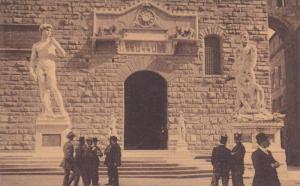 Piazza Della Signoria, Firenze (Tuscany), Italy, 1900-1910s