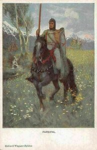 Parsifal, Richard Wagner-Zyklus, Knight, Horse, Cavalry