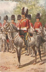 Harry Payne. The Royal Scots Greys , Oficer. Horses Tuck Oilette PC #