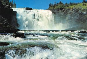 Postcard NORRLAND Fargernas Land Tannforsen Waterfall SWEDEN