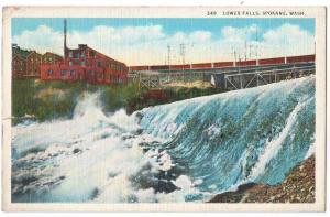 Lower Falls, Spokane WA