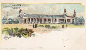 1904 St Louis MO World's Fair Varied Industries Building Signed Graham Postcard
