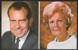 President and Mrs. Nixon, unused