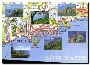 Postcard Modern Riviera Photo Miguet Ajuria
