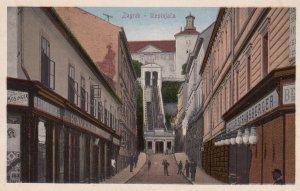 ZAGREB , Croatia , 1900-10s ; Uzpinjaca