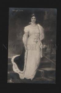 075793 GERMAN Princess Konigin Luise Vintage PC
