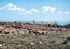 Cyprus Kourion The ruins of the Temple of Apollo Hylates