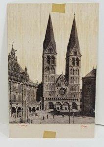 Bremen Dom Germany Vintage Postcard