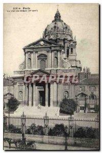 Postcard Old Paris Val de Grace fifth stop
