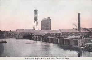 Wisconsin Wasau Marathon Paper Company Mill