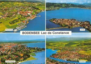 Bodensee Lac de Constance, Friedrichshafen Konstanz Lindau Meersburg Panorama