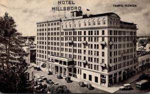 Florida Tampa Hotel Hillsboro 1949