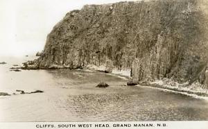 Canada - New Brunswick, Grand Manan. South West Head - RPPC