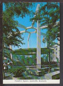 Founders Square Louisville KY Postcard BIN