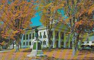 Vermont Newfane Windham County Court House