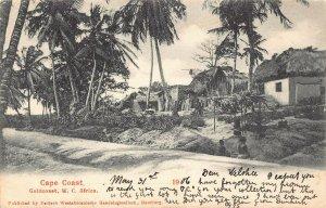 Ghana Gold Coast Cape Coast 1906 Postcard