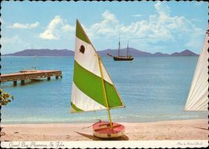 Caneel Bay Plantation St John Virgin Islands veil boat