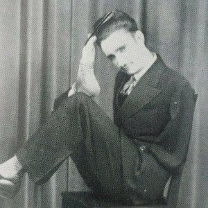 Ray R Myers Armless Wonder Musician Steel Guitar Player Music 1940s Postcard G6