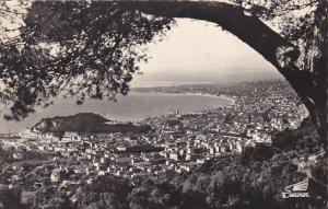 France Nice Vue generale 1961 Real Photo