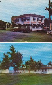 Sun Rise Motel & Cabins , 30 miles East of Montreal , Quebec , Canada , 50-60s